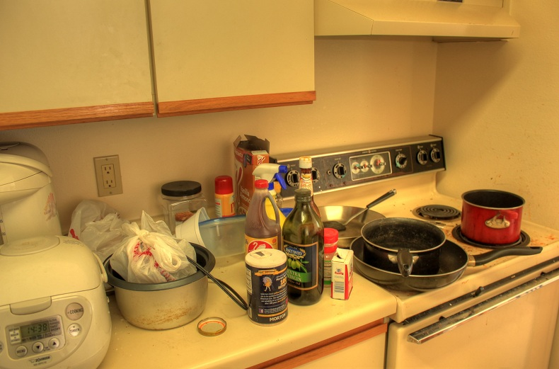 a-messy-kitchen