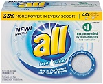 all-free-and-clear-powder detergent index cleanitguide.com
